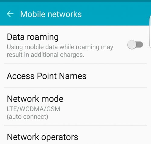 How to Setup the Apn & Data Settings on the Samsung Galaxy S8