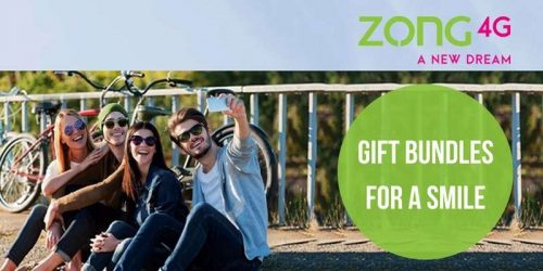 Zong 4G Gift a Bundle offer-Lets Send Gift Bundles to Your