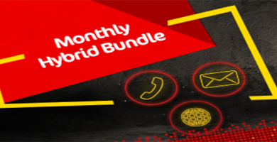 Mobilink Monthly Hybrid Bundle Offer