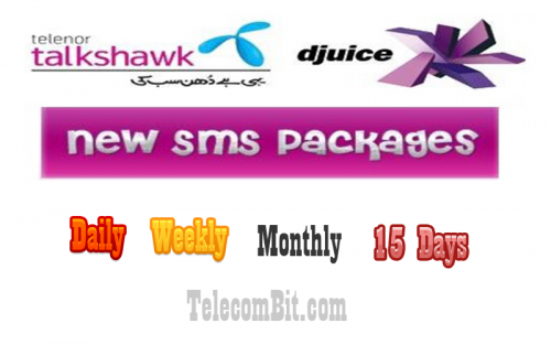 Telenor SMS Packages – Daily, Weekly, 15 Days, Monthly 2018