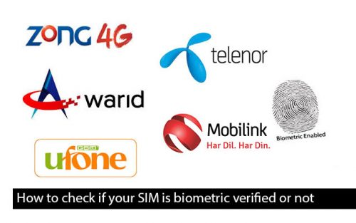 How to Check Whether Your SIM is Biometrically Verified or Not