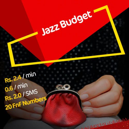 Jazz Budget Package Plan – Tariff & Conversion