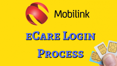 Mobilink Jazz Sign in to Ecare