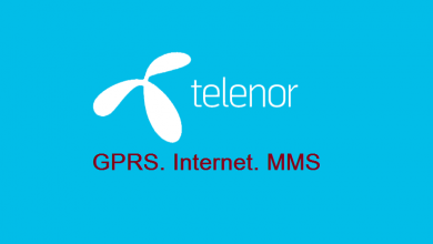 Telenor 3G 4G Internet Settings MMS Settings