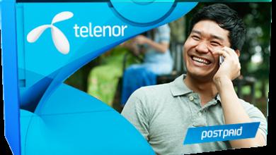 Telenor Postpaid Internet Packages 2G 3G 4G