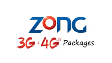 Zong 3G Packages Zong 4G LTE Packages
