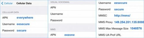 EE 4G APN Settings for Android HTC Desire Nexus Galaxy Xperia - 4G ...