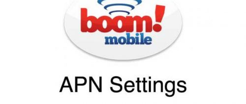 Boom Mobile Apn Settings