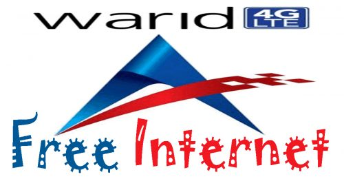 Warid Free Internet Trick Updated Get 3G/4G Data August 2019