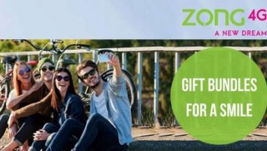 Zong 4G Gift a Bundle offer