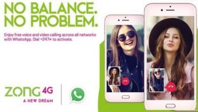 Zong Free Whatsapp Internet