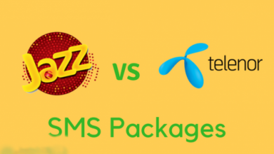 Jazz SMS Packages VS Telenor SMS Packages