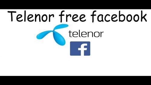 Telenor Free Facebook Trick