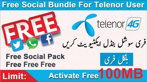 Telenor Social Pack Offer