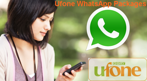 Ufone WhatsApp Packages Daily, Weekly, Monthly 2019 (Updated)