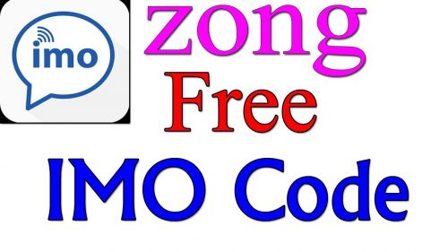 Zong Free IMO Code September 2019 100% Working Updated