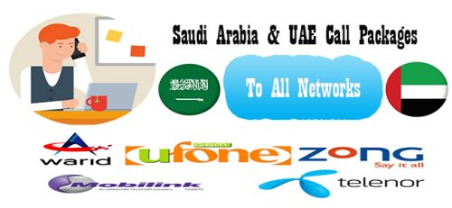 Saudi Arabia And UAE Call Packages