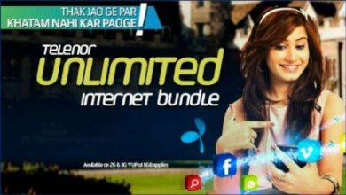 Telenor 4G Daily Unlimited Internet Bundle Offers Updated