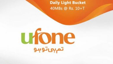 Ufone Daily Light Bucket