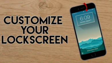 How tO customize iphone lock screen