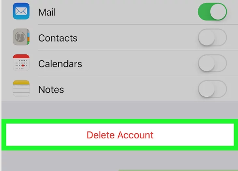 How to Remove Gmail Account from iPhone - image4