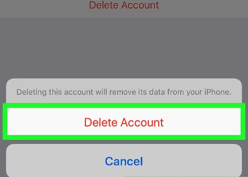 How to Remove Gmail Account from iPhone - image5