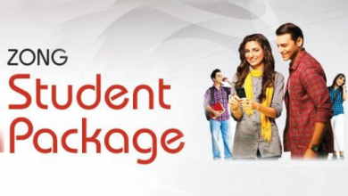 Zong Student Packages