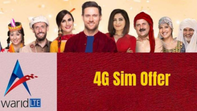 Warid 4G SIM Offer Price