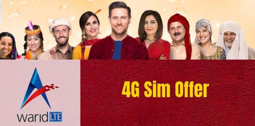 Warid 4G SIM Offer Price