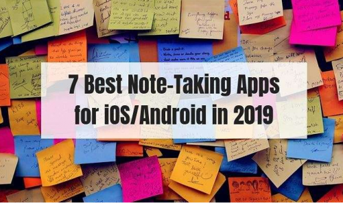 Note-Taking Apps for iOS/Android
