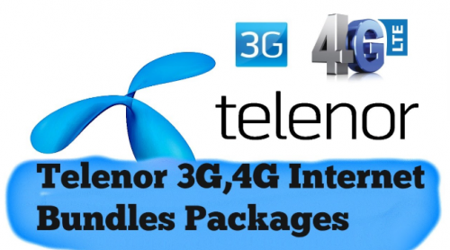 TELENOR 3G/4G DEVICE PACKAGES