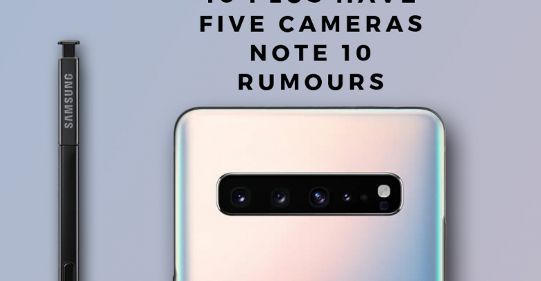 samsung note 10 rumours