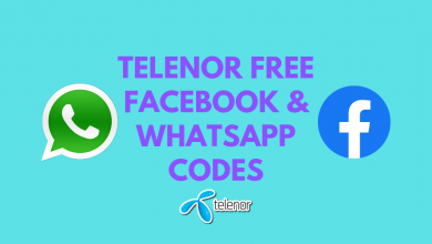 Telenor Free facebook and whatspp