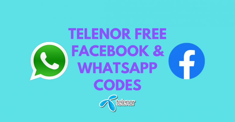 Telenor Free Facebook, WhatsApp Code (2019 Updated)