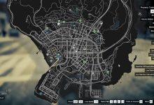 GTA 5 map